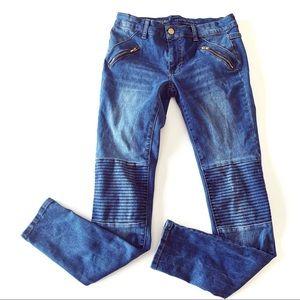 Mossimo Mid rise Denim Legging Moto Skinny Jeans